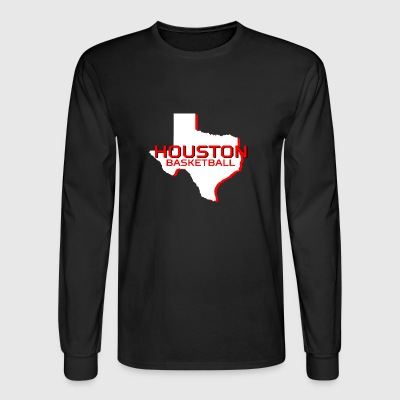 HOUSTON BASKETBALL - Men's Long Sleeve T-Shirt