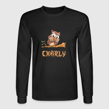 Charly Owl - Men's Long Sleeve T-Shirt
