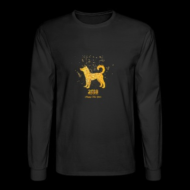 Chinese New Year 2018 - Men's Long Sleeve T-Shirt