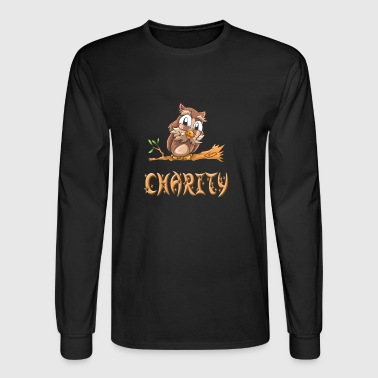 Charity Owl - Men's Long Sleeve T-Shirt