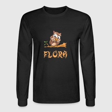 Flora Owl - Men's Long Sleeve T-Shirt