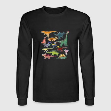 dinosaurs jurassic - Men's Long Sleeve T-Shirt