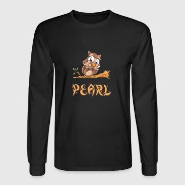 Pearl Owl - Men's Long Sleeve T-Shirt