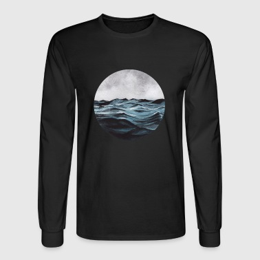 Waves - Men's Long Sleeve T-Shirt