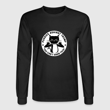 dont grab my pussy - Men's Long Sleeve T-Shirt