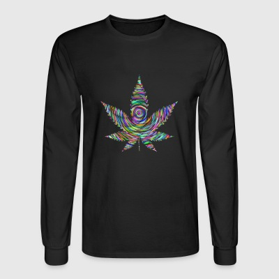 Weed Rainbow - Men's Long Sleeve T-Shirt