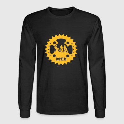 3 Mountainbiker Kurbel - Men's Long Sleeve T-Shirt