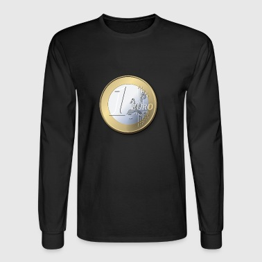1 Euro - Men's Long Sleeve T-Shirt