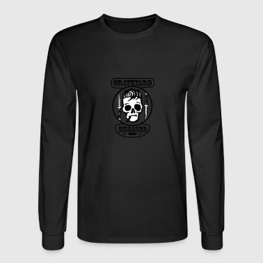 Graveyard Greaser Vintage Logo - Men's Long Sleeve T-Shirt