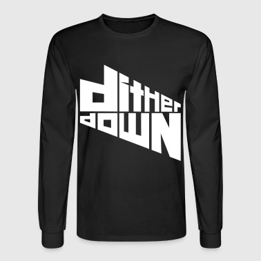Dither Down - Men's Long Sleeve T-Shirt