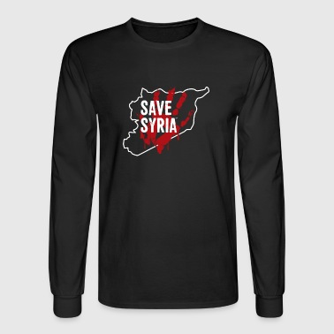 Save Syria - Men's Long Sleeve T-Shirt