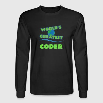 CODER - Men's Long Sleeve T-Shirt