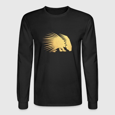 gold porcupine - Men's Long Sleeve T-Shirt