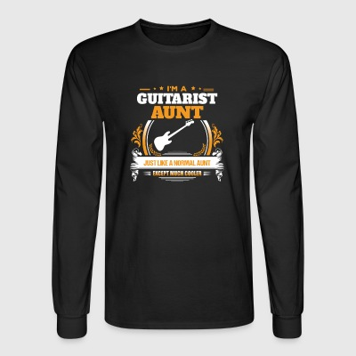 Guitarist Aunt Shirt Gift Idea - Men's Long Sleeve T-Shirt
