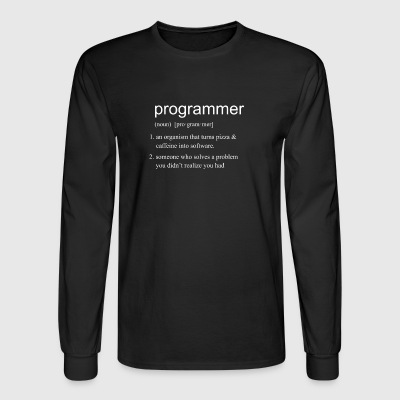 Programmer DEFINITION - Men's Long Sleeve T-Shirt