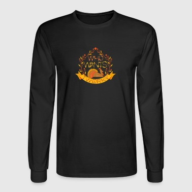 Who Wants Twerky Thanksgiving Turkey Holiday - Men's Long Sleeve T-Shirt