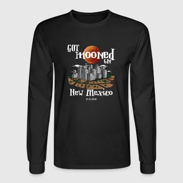 Got Mooned in New Mexico NM Lunar Eclipse 2018 - Men's Long Sleeve T-Shirt