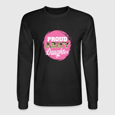 Army Doughter great gift - Men's Long Sleeve T-Shirt
