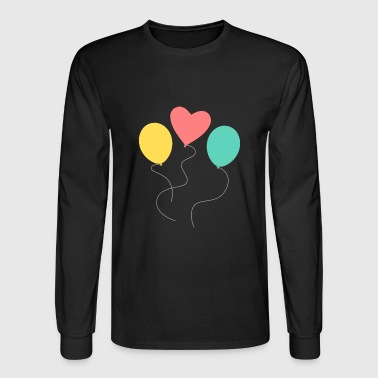 balloons - Men's Long Sleeve T-Shirt