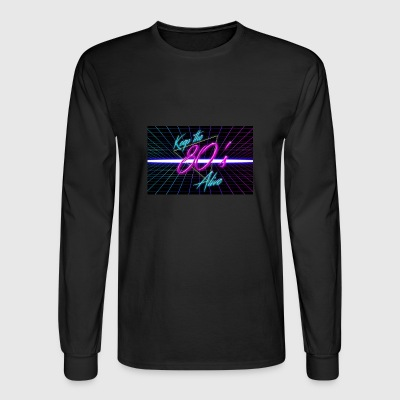 80s - Men's Long Sleeve T-Shirt