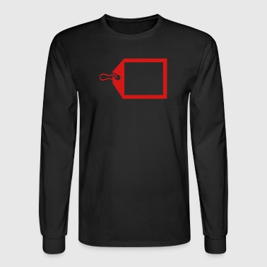 Gift Tag - Men's Long Sleeve T-Shirt