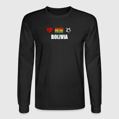 Bolivia Football Shirt - Bolivia Soccer Jersey - Men's Long Sleeve T-Shirt