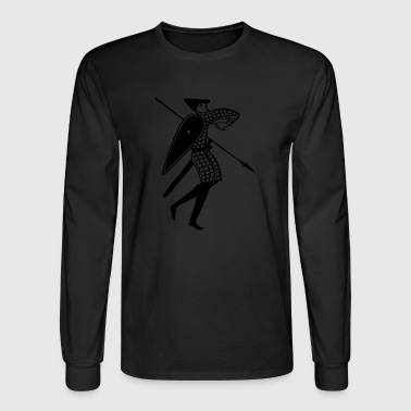 medieval character - Men's Long Sleeve T-Shirt