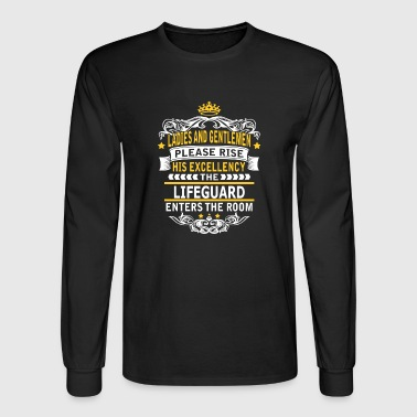 LIFEGUARD - Men's Long Sleeve T-Shirt