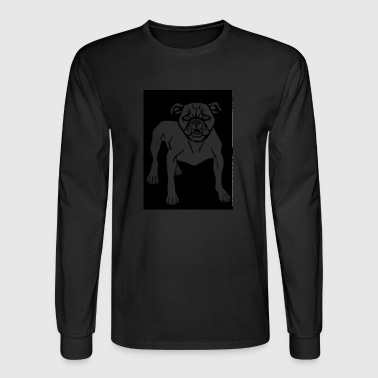 Angry Animal Canine Dog Mammal Mean 2026582 - Men's Long Sleeve T-Shirt