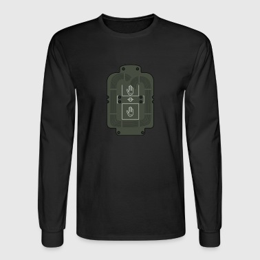 Breaching Charge Set T Shirt - Men's Long Sleeve T-Shirt