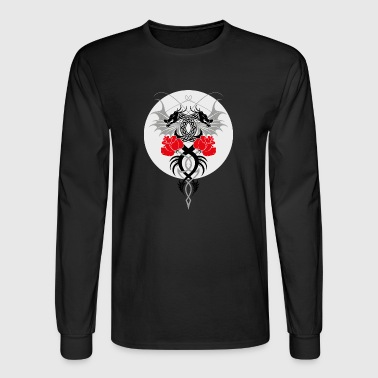 dragon and the rose - Men's Long Sleeve T-Shirt