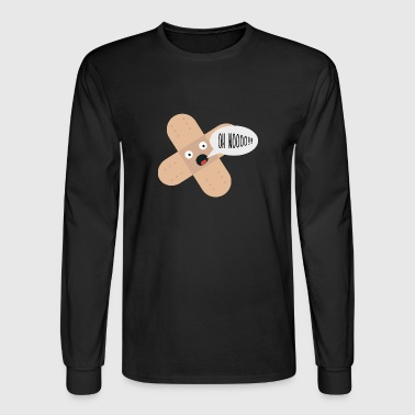 compassionate patch - Men's Long Sleeve T-Shirt