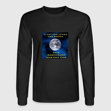 I AM THE ALPHA AND OMEGA - Men's Long Sleeve T-Shirt