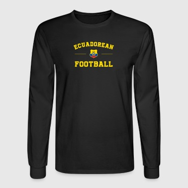 Ecuador Football Shirt - Ecuador Soccer Jersey - Men's Long Sleeve T-Shirt