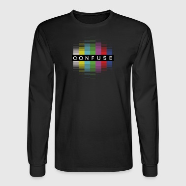 Confuse bars and tone - Men's Long Sleeve T-Shirt