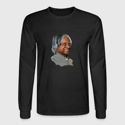 abdul kalam - Men's Long Sleeve T-Shirt