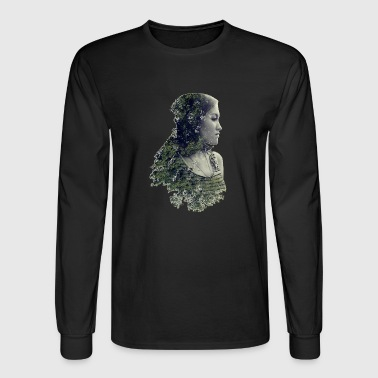Woman Forest - Save the forest - Men's Long Sleeve T-Shirt