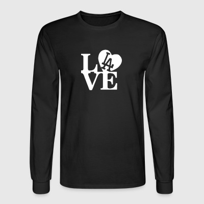 I Love LA - Men's Long Sleeve T-Shirt