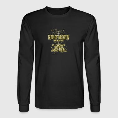 Clash Guns of Brixton Armoury - Men's Long Sleeve T-Shirt