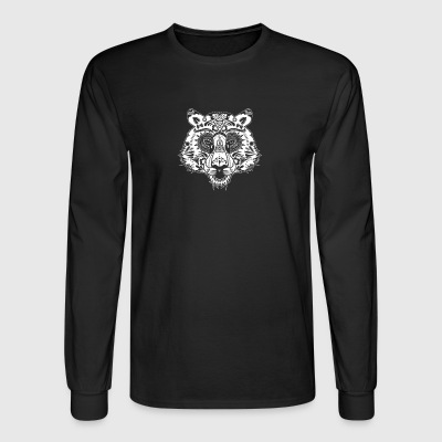 Day Of The Dead Tigers - Men's Long Sleeve T-Shirt