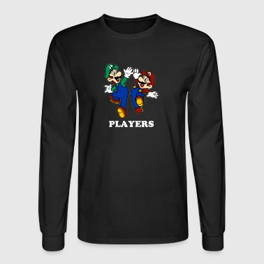 Promo A158 Super Mario & Luigi TillieMCallaway - Men's Long Sleeve T-Shirt