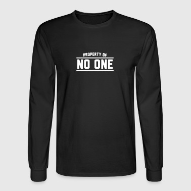 Property Of No One - Men's Long Sleeve T-Shirt