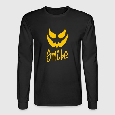 Evil Smile - Men's Long Sleeve T-Shirt