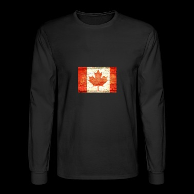 Canada flag - Men's Long Sleeve T-Shirt