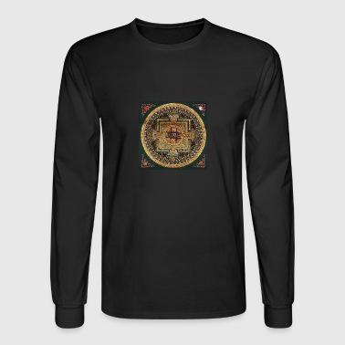 Kalachakra Mandala - Men's Long Sleeve T-Shirt