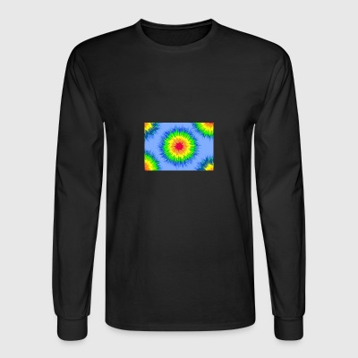 tie dye vector - Men's Long Sleeve T-Shirt