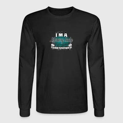 library lady - Men's Long Sleeve T-Shirt