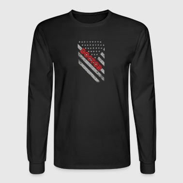 Doctor Flag - Men's Long Sleeve T-Shirt