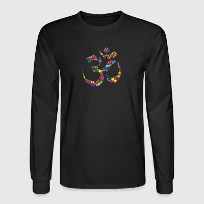 om sign - Men's Long Sleeve T-Shirt