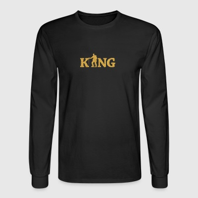 Mountain Climbing King - Men's Long Sleeve T-Shirt